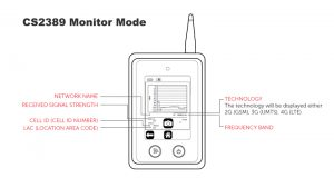 CS2389 4G Signal Analyser